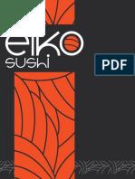Carta Eiko Sushi