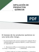 CAPACITACION SEGURIDAD EN LA MANIPULACION DE PRODUCTOS QUIMICOS.pptx