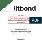 Bitbond STO offer