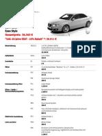 Configuration Seat Exeo 1.8 TSI