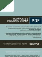 Transporte e Mobilidade Urbana UFABC