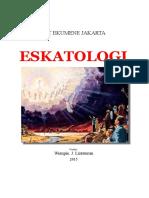 Eskatologi - Kata Pengantar