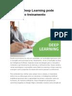 Como o Deep Learning Pode Auxiliar No Treinamento