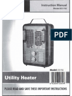 DQ1702 Utility Heater, Brown - Instructions Walmart