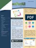 Boletín GeoForAll - Febrero 2019 en español
