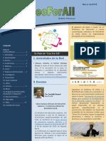 Boletín GeoForAll - Marzo 2019 en Español