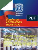 Diseño de ventilación industrial