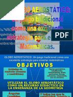 Ponencia Globo Aerostatico Un Juego Tradicional Como Un Excelente Recurso Para Enseñar Matematicas