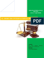 El Derecho Internacional Privado (Tarea Al 30-06-2019)