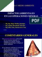 Impactos ambientales mineras