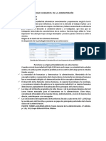 Enfoque Humanista en La Administración- Teoria Organizacional
