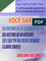 SÓCIO DO GEAF