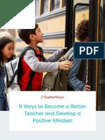 9 Ways to Become a Better Teacher
