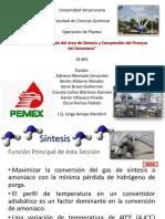 Síntesis y Compresión Del Amoniaco
