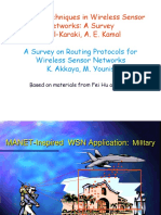 WSN Routing Protocols (lecture)