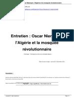 Entretien Oscar Niemeyer l Alg Rie a1012