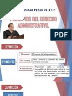 Principios Del Dereho Administrativo - Diapositivas