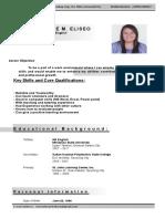 Bennah CV Resume