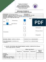 Be Form 7 School Accomplishment Report