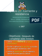 6.- Corriente y Resistencia Eléctrica