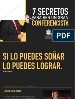 7 Secretos Para Ser Un Gran Conferencista