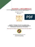 MUN Diseno y Optimizacion de Una Estructura Geometrica Cilindica Para Un Desprendimiento