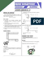 Actividades de División Algebraica Para Cuarto de Secundaria