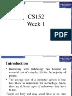 CS152Week1