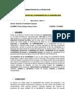 LECTURA 2 Comentario... Teoria y Beneficios de La Ingenieria de La Confiabilidad