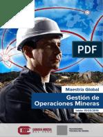 Gestion de Operaciones Mineras