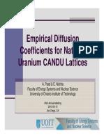 ANS Diffusion Coeffcient Presentation Amin Patel Eleodor Nichita UOIT