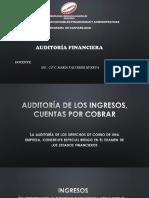 Auditoría de Los Ingresos Cuentas Por Cobrar