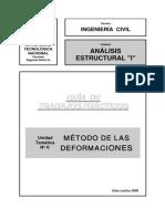 Anal Estr I - Met de Las Deform-GuiaTP-06