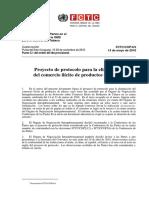 Proyecto de Protocolo Para La Eliminación Del Comercio Ilícito de Productos de Tabaco
