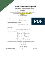 Examen 2 Optimización de Procesos