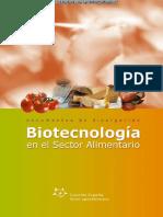 Biotecnología en El Sector Alimetario