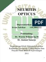 Vdocuments.mx Neuritis Opticus Irvan