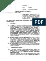 Demanda Arbitral Sr. Pardo Basilio Nestor