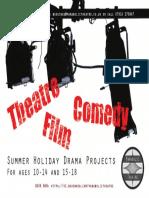 Summer Scheme Flyer Front