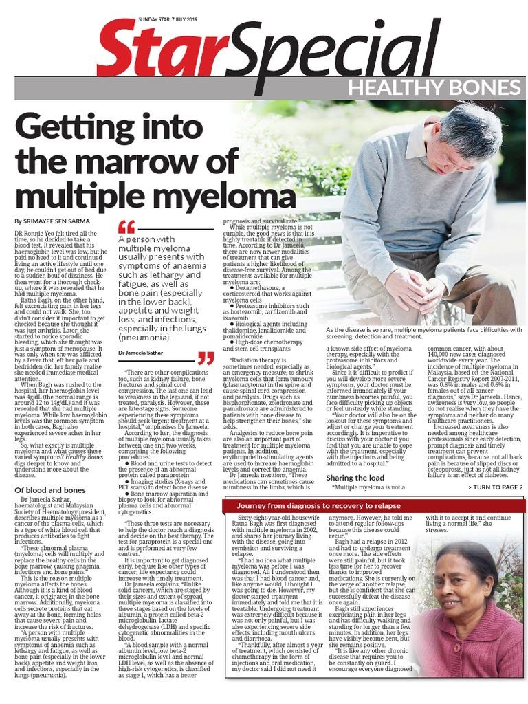 Health Bones - 7 July 2019 | Multiple Myeloma | Osteoporosis