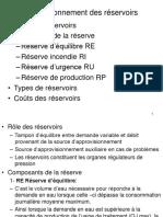 CHAP 3 Dimensionnement Des Réservoirs