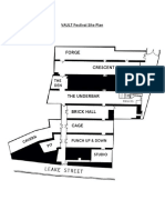 The Vaults - Labelled Site Plan