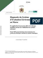 Diagnostic Du Système d'Evaluation Environne
