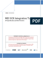 MEI SCR Integration Toolkit