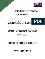 ENSAYO, VALUACIÓN DE EMPRESAS.docx