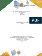 Fundamentos Del Concepto de Aprendizaje y Estilos de Aprendizaje