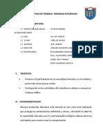 Plan de Trabajo Brigadas Ecologicas 2014
