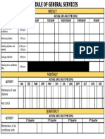General Services Form
