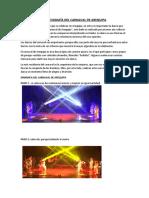 Coreografía Del Carnaval de Arequipa