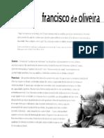 Entrevista. Francisco de Oliveira